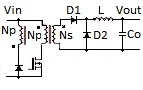 Single-Transistor Forward